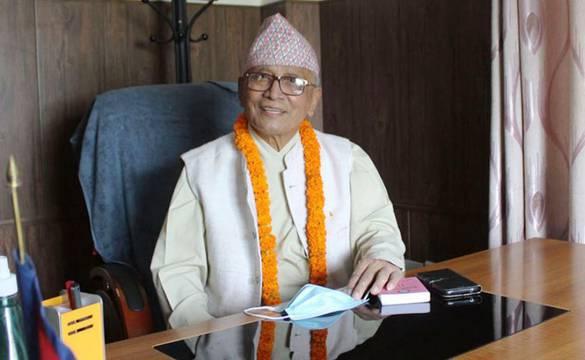 अल्पमतमा परेको लुम्बिनी सरकार विघटन गरी नयाँ सरकार गठन गर्न प्रदेश प्रमुखलाई ध्यानाकर्षण पत्र