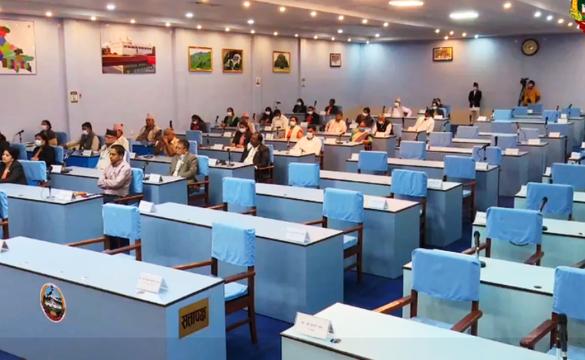 लुम्बिनी प्रदेशसभाकाे बैठक बस्दै