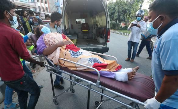 आमरण अनसनरत रुवी खान अस्पताल भर्ना