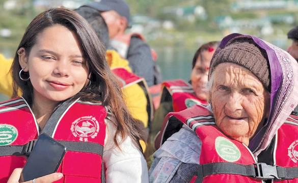 खोटाङकी ८५ वर्षीया पवित्रा भट्टराई पुगिन् रारा