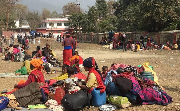वीरेन्द्रनगरमा बादी समुदाय : जग्गा नपाएसम्म मुख्यमन्त्री कार्यालय नछाड्ने