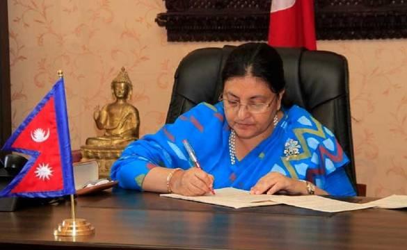 नागरिक आकांक्षालाई कार्यरूप दिनु युगीन अभिभारा : राष्ट्रपति