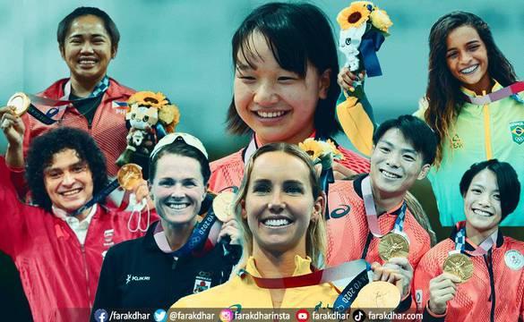 यी हुन् टोकियो ओलम्पिकमा चर्चा कमाएका खेलाडी