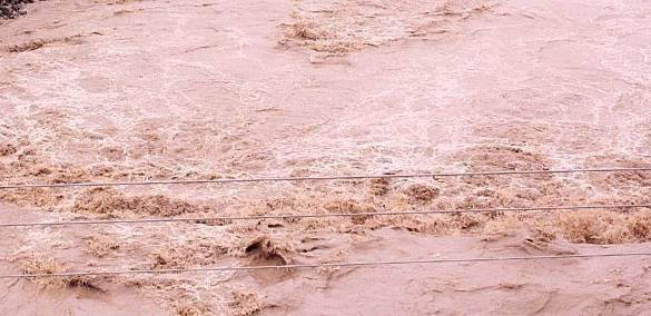 सेती नदीमा पानीको बहाव खतराको तहभन्दा माथि