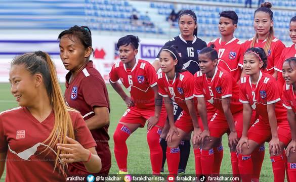 'होम अफ नेपाली फुटबल' मा महिला टोलीको प्रवेश, नयाँको जोश