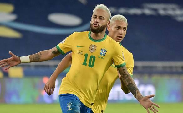 ब्राजिलबाट पछिल्ला ५ खेल खेल्दा नेमारको ७ गोल, पेलेलाई भेट्न ९ कम