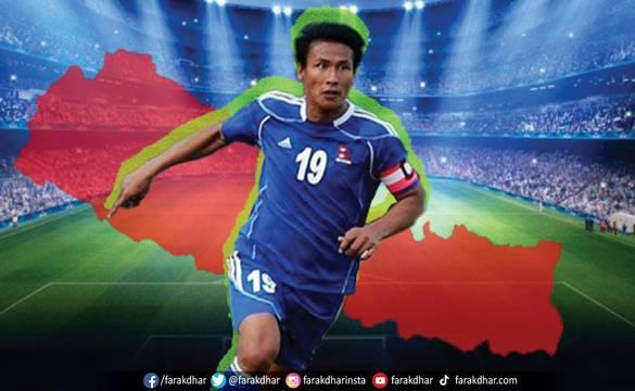 नेपाली फुटबलले बिर्सन नसक्ने सागरको त्यो गोल